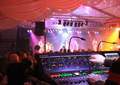 Veranstaltungstechnik - ABBA-Konzert