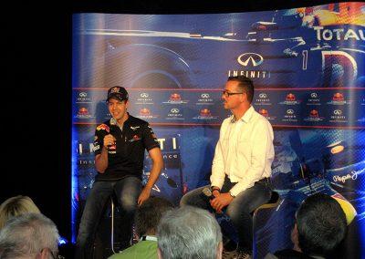 Presse Konferenz Sebastian Vettel Nürburgring