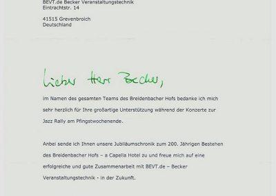 Jazz Rally, Breidenbacher Hof, Düsseldorf