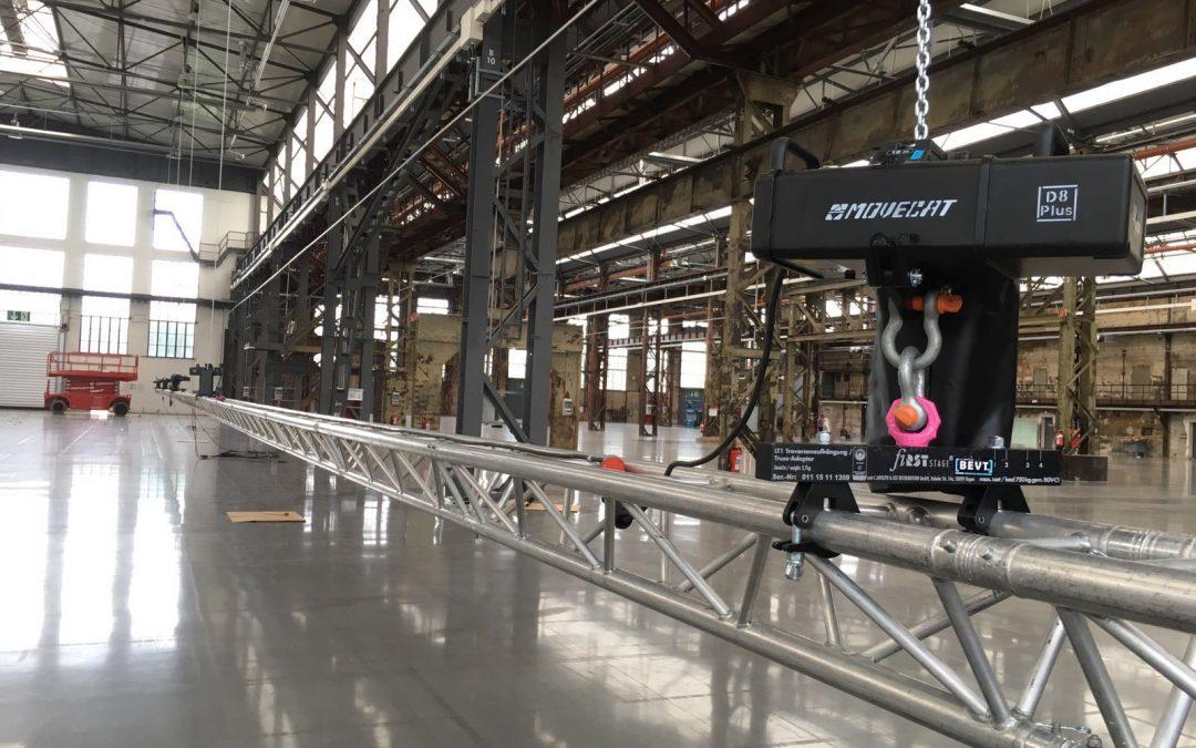 Neu in der Vermietung: Movecat D8plus Kettenzüge