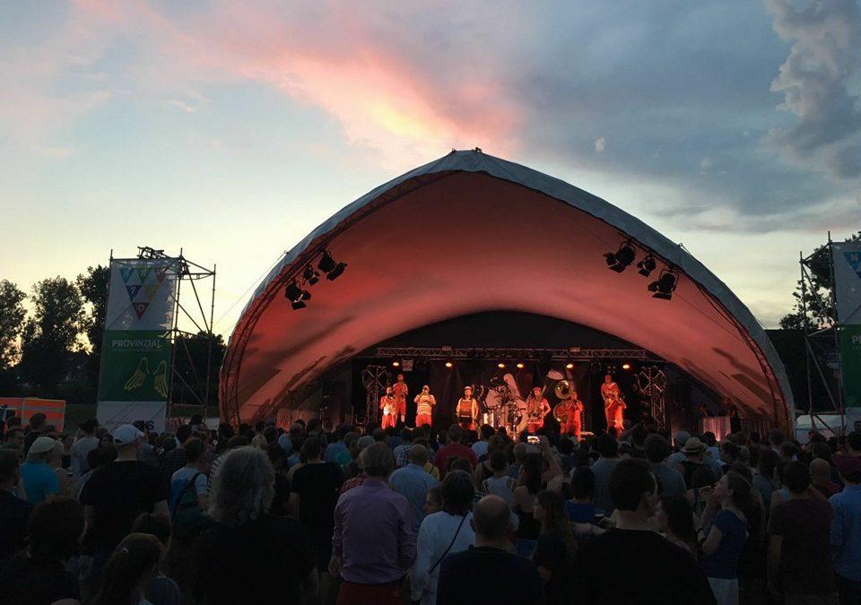 NRW Fest Düsseldorf – Hauptbühne auf der Festwiese
