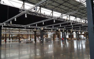 Start zum großem Aufbau anlässlich der Igedo Gallery Messe