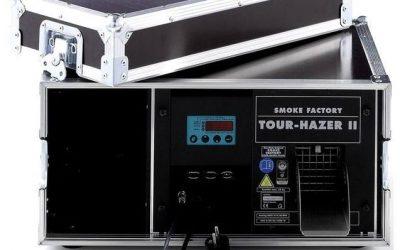 Neu in der Vermietung: Smoke Factory Tour-Hazer 2 u.v.m.