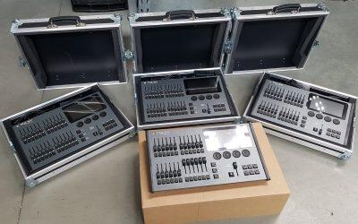 Neu in der Vermietung: EATON / Zero88 FLX Lichtpulte