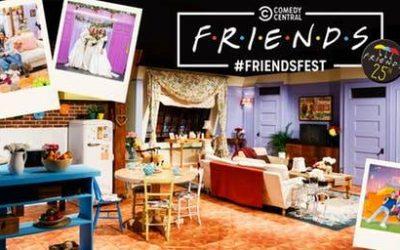 Lichttechnik für das Filmset der Kultserie Friends!
