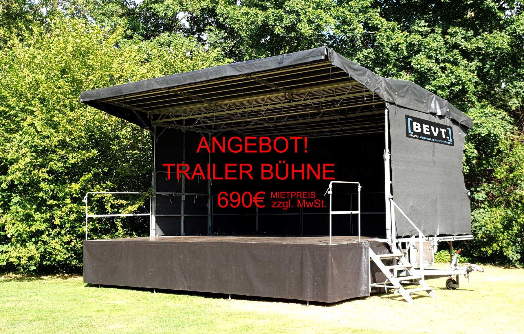 Open-Air Trailerbühne
