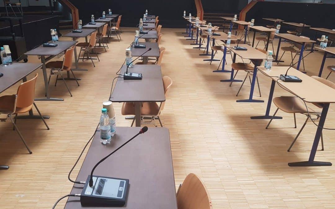 Konferenzsystem für Tagungen, Konferenzen und Meetings